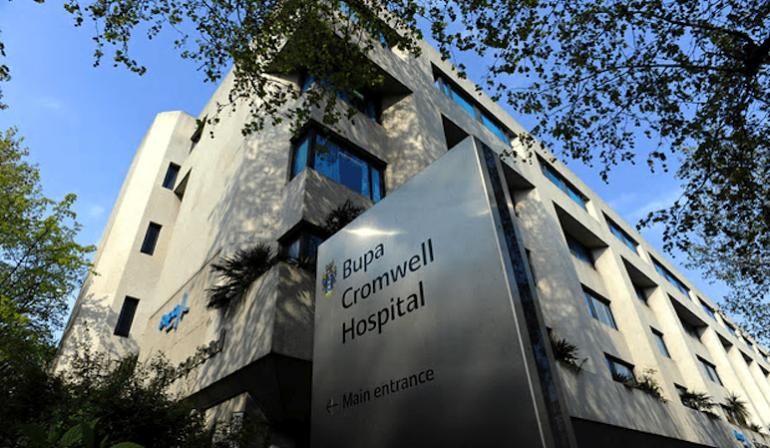 Bupa Cromwell Hospital in London.