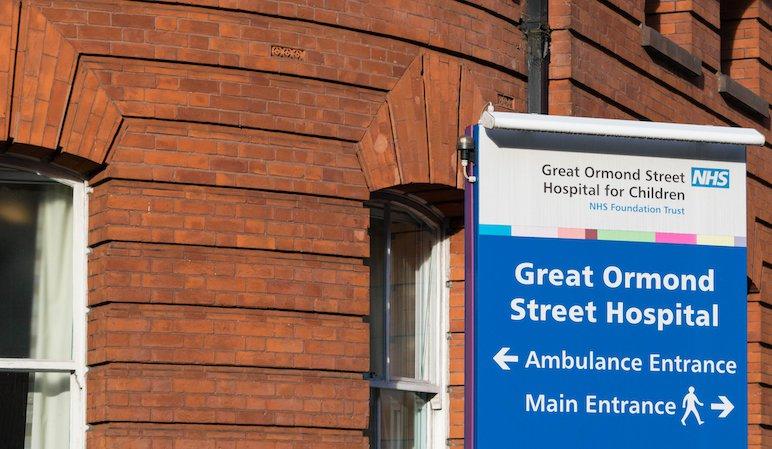 Great Ormond Street Hospital in London
