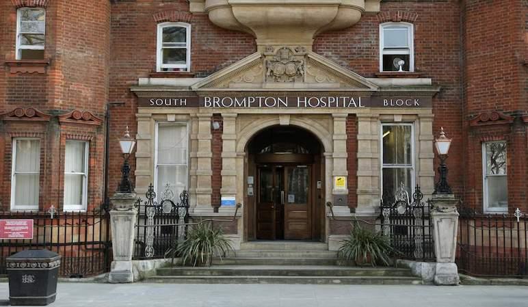 Royal Brompton Hospital in London