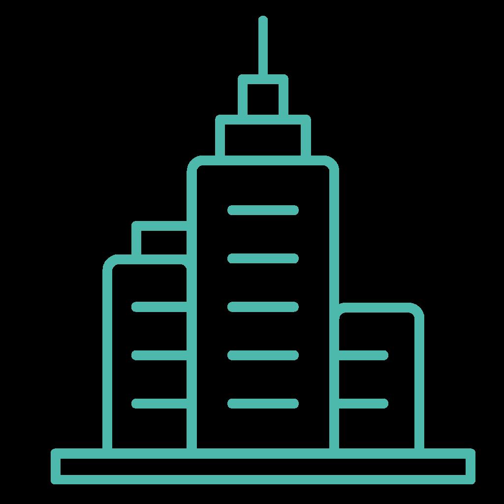 Graphic of city