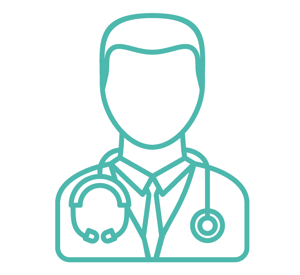 Graphic of a doctor
